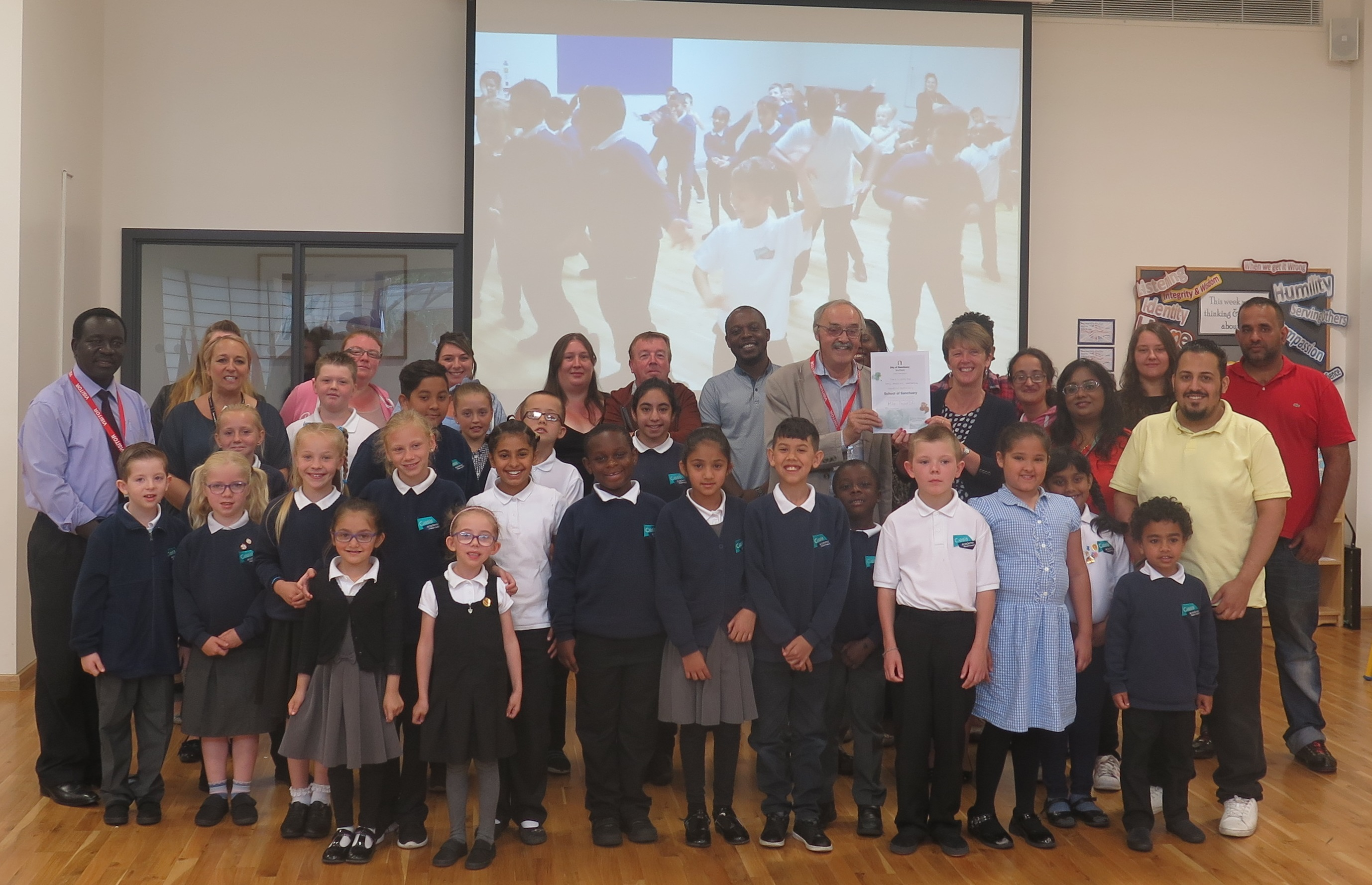Watermead becomes Sheffield's first ever School of Sanctuary