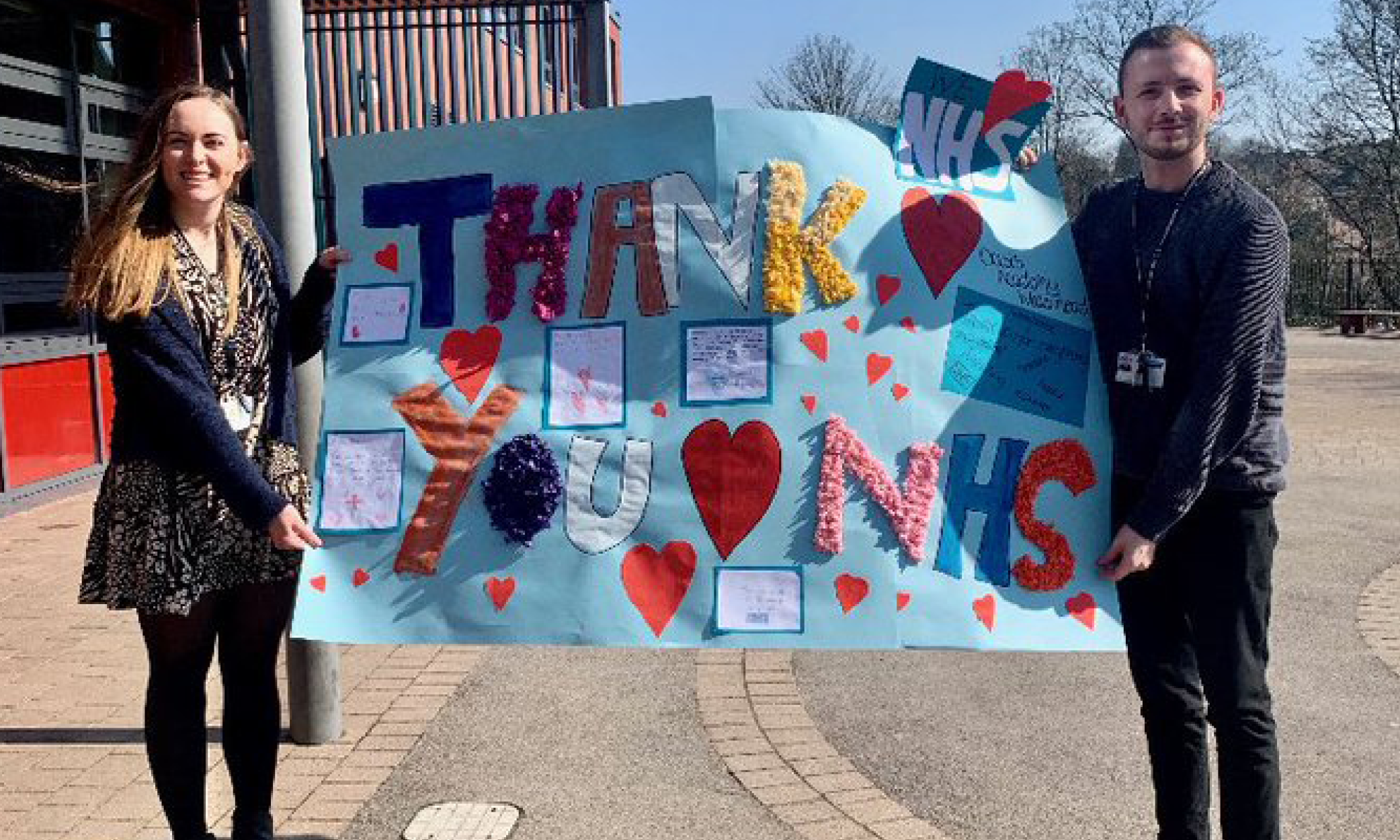Sheffield Children's Hospital CEO thanks pupils